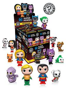 Mystery Minis Blind Box: DC Heroes & Pets 1 (12 Packs)