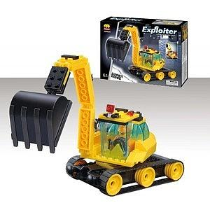 Brictek Exploiter Construction Set: Big Bucket Excavator