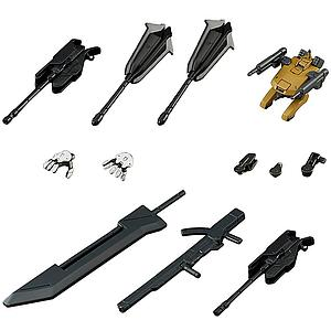 Gundam High Grade Iron-Blooded Arms 1/144 Scale Model Kit Accessories:  Option Set 5 & Tekkadan Mobile Worker