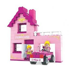 Brictek Fairyland Set: Home & Garage