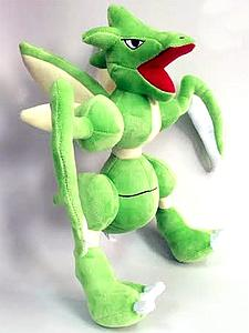 "Pokemon Plush Scyther (12"")"