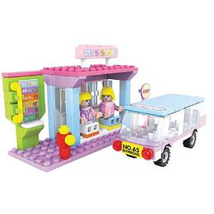Brictek Fairyland Set: Bus Stop