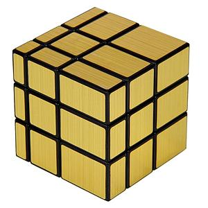 Puzzle Cube Mirror Golden 3X3X3