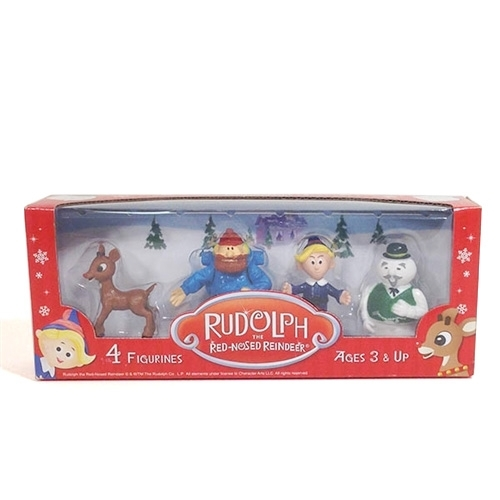 Rudolph The Red-Nosed Reindeer 4 Pack - Rudolph