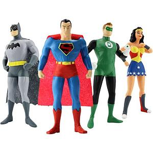 Justice League: Bendable Boxed Set
