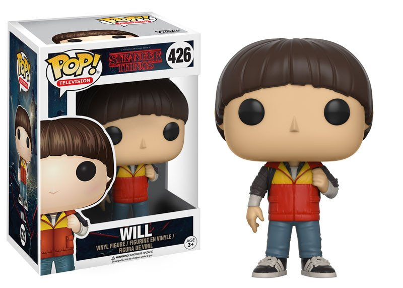 Pop! Television Stranger Things Vinyl Figure Will #426
