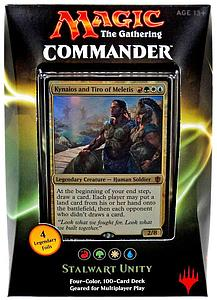 Magic the Gathering: Commander 2016 - Stalwart Unity Deck