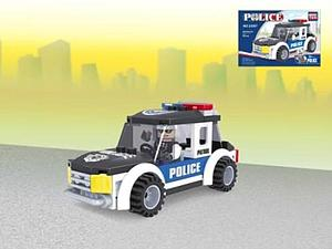 Brictek Police Set: Jeep