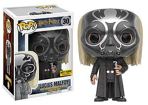 Pop! Harry Potter Vinyl Figure Lucius Malfoy (Death Eater) #30 Hot Topic Exclusive