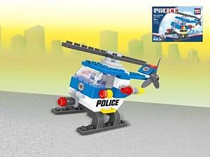 Brictek Police Set: Helicopter