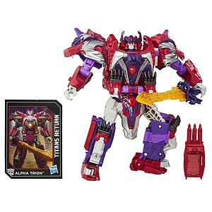 Transformers Generations Titans Return Voyager Class Autobot Sovereign & Alpha Trion