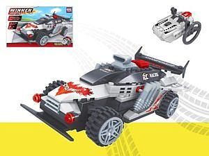 Brictek Winner Set: Racing Car Cyclone (Remote Controlled)