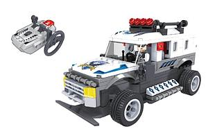Brictek Winner Set: Police Truck (Remote Controlled)