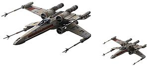Star Wars 1/72 & 1/144 Scale Model Kit: Red Squadron X-Wing Starfighter Special Set
