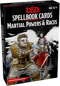 Dungeons & Dragons Spellbook Cards: Martial Powers & Races