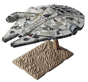Star Wars 1/144 Scale Model Kit: Millennium Falcon (The Force Awakens) (Retired)