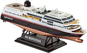 REVELL GERMANY 1:1200 Scale Ship Plastic Model Kit MS Midnatsol (05817)