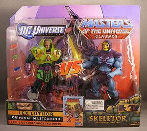 Mattel DC Universe & Masters of the Universe 2-Pack Exclusives: Lex Luthor vs. Skeletor