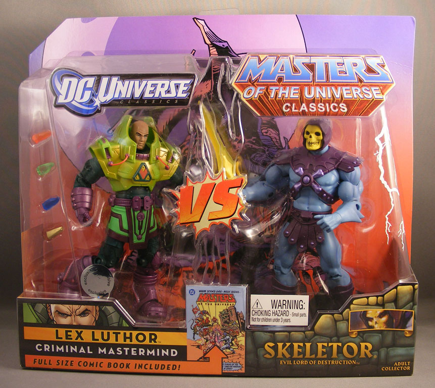 Mattel DC Universe & Masters of the Universe 2-Pack ...