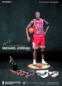 Enterbay Michael Jordan 13 Inch Doll Figure Real Masterpiece Series