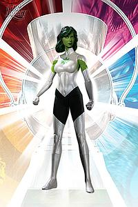 "DC Direct Brightest Day Green Lantern 6"" Series 3 Jade"