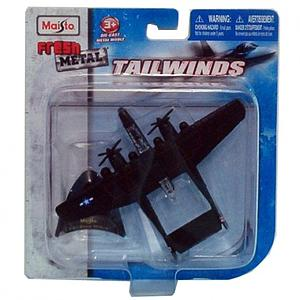 Maisto Tailwinds Die-cast Figure: P-61 Black Widow