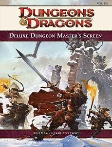 Dungeons & Dragons Dungeon Master's Screen: 4th Edition Accessory