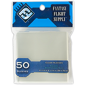 Fantasy Flight Card Sleeves Board Game Size: Square