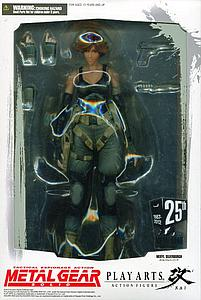 "Metal Gear Solid Play Arts Kai 8"": Meryl Silverburgh"