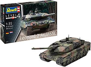 Revell Germany 1:35 Scale Model Kit Leopard 2 A6/A6NL (03281)