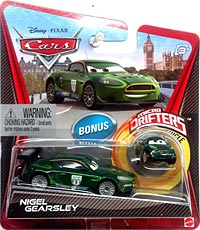 Mattel Disney Cars Die-Cast 1:55 Scale Toy: Nigel Gearsley (w/ Micro Drifters)