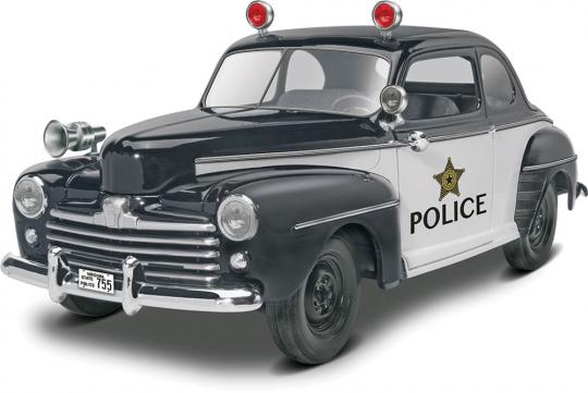 48 Ford Police Coupe 2 'N 1  1/25 (4318)
