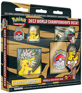 Pokemon Trading Card Game 2013 World Championships Deck: Clement Lamberton - Anguille Sous Roche Deck