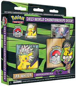 Pokemon Trading Card Game 2013 World Championships Deck: Ian Whiton - American Gothic Deck