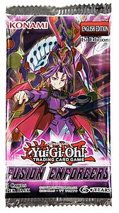 Yugioh Trading Card Game: Fusion Enforcers Booster Pack