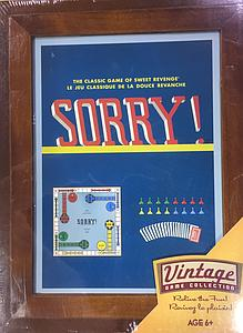 Sorry (Vintage Game Collection)