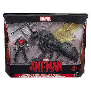 "Marvel Infinite Series Ant-Man 3.75"" Figure with Flying Ant"