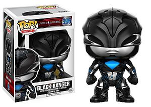 Pop! Movies Power Rangers Vinyl Figure Black Ranger #396 (Vaulted)