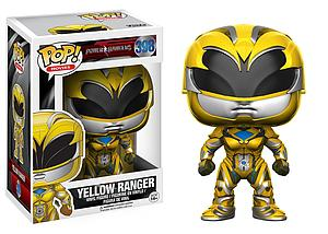 Pop! Movies Power Rangers Vinyl Figure Yellow Ranger #398 (Vaulted)