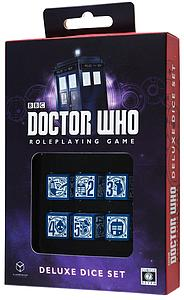 Doctor Who: Roleplaying Game - Deluxe Dice Set