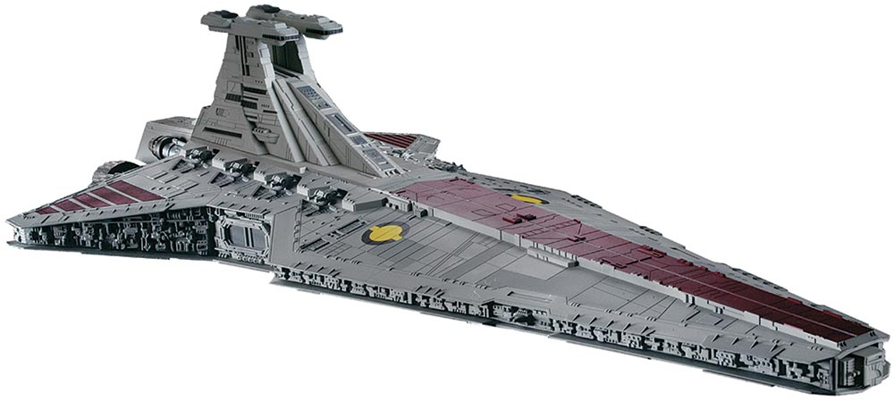Revell Star Wars Model Kit: Republic Star Destroyer (6458 ...