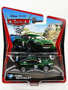 Mattel Disney Cars Die-Cast 1:55 Scale Toy: Nigel Gearsley #20