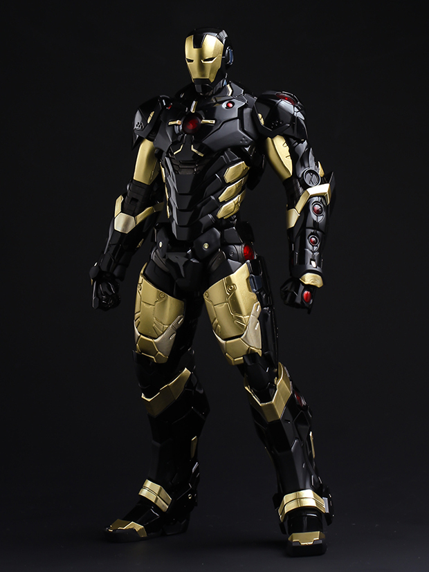 Black Iron Man Suit
