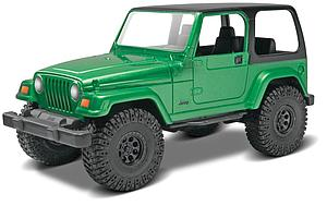 REVELL USA SnapTite 1/25 Scale Car Model Kit Jeep Wrangler Rubicon (85-1695)