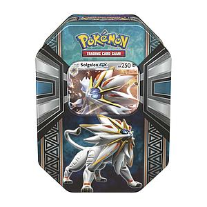 Pokemon Trading Card Game Legends of Alola Spring Tins 2017: Solgaleo-GX