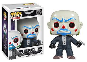 Pop! Heroes The Dark Knight Vinyl Figure Joker Bank Robber #37 (Vaulted)