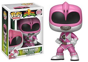Pop! Television Power Rangers Vinyl Figure Pink Ranger #407 (Vaulted)