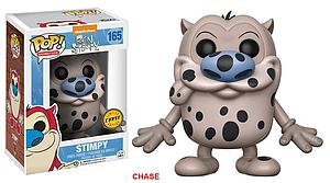 Pop! Animation Ren & Stimpy Vinyl Figure Stimpy (Fire Dog) #165 (Chase)