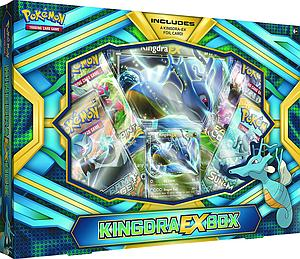 Pokemon Trading Card Game: Kingdra-EX Box