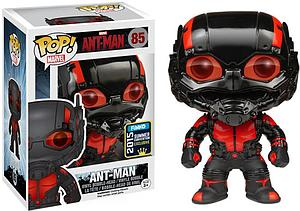 Pop! Marvel Ant-Man Vinyl Bobble-Head Ant-Man (Black Out) #85 2015 Summer Convention Exclusive